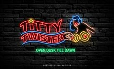 Titty Twister Neon Sign