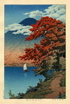 Hasui Kawase - Nikko Chuzenji Lake