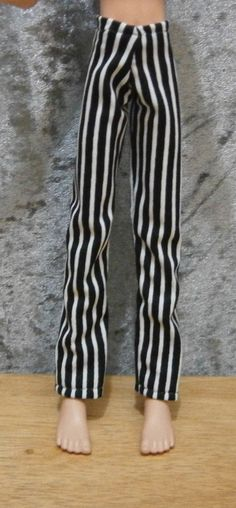 PJ pants for monster high male dolls by moonsight68 on Etsy, $5.00