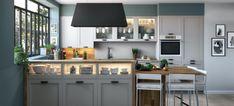 DELIA - Ixina-Bucătării Germane Massage Bed, Foam Adhesive, Zoom Call, Room Doors, Home Living Room, Decoration, Diy Home Decor, Kitchen Design, Design Inspiration