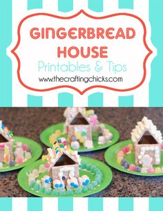Gingerbread Houses {A Christmas Tradition}