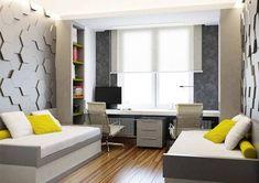 Decor, Furniture, Room, Room Design, Small Room Bedroom, Bedroom Decor, Study Room Design, Twin Boys Room, Aesthetic Bedroom
