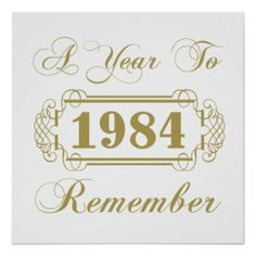1984 A Year To Remember