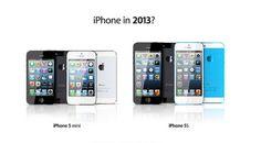 Wordt verwacht: de iPhone 5 Mini en de iPhone 5S