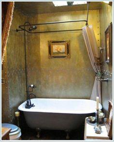 Stylish Steampunk Bathroom Ideas with 25 Best Submarine Bathrooms Images On Home Decor Bathroom Ideas Steampunk Bathroom Decor, Industrial Bathroom Design, Victorian Bathroom, Lampe Steampunk, Steampunk House, Bathroom Images, Bathroom Ideas, Basement Bathroom, Bathroom Showers