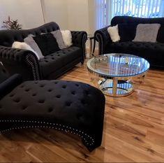 Decor Home Living Room, Glam Living Room, Home Decor Furniture, Living Room Designs, Room Ideas Bedroom, Bedroom Decor, First Apartment Decorating, Cute Room Decor, Home Room Design