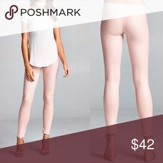 S•M•L Pink Blush Wax Leggings Introducing Blush Wax! These are so super Sexy, and Trendy!! It's such a versatile piece. Also available in Black Wax. Price is firm unless bundled with 2 or more items for a 15% off discount. Fast shipping! Pants Leggings