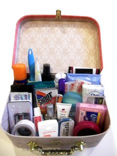 and, of course, the Bride's Survival kit....Overnight bag is a good idea.  Could be used for honeymoon too.