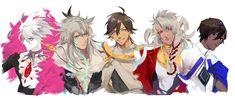 Ozymandias / Karna / Siegfried / Arjuna / Solomon【Fate/Grand Order】