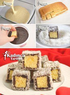 - Kadınca Tarifler - galletas - Las recetas más prácticas y fáciles Frosting Recipes, Cake Recipes, Dessert Recipes, Desserts, Spicy Recipes, Baby Food Recipes, Baking Recipes, English Cake Recipe, Eid Sweets