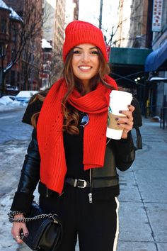 Red in New York | Negin Mirsalehi
