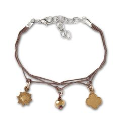 Fun to wear double string hemp bracelet with Bronze Award symbol, trefoil and bronze plastic bead charm. chain extends to Pewter charms are ½ and bead charm is ¼. Made in USA. Girl Scout Shop, Girl Scout Juniors, Hemp Bracelets, Friendship Bracelets, Bronze Award Girl Scouts, Girl Scout Cookies, Plastic Beads, Girl Gifts, Awards