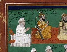 Guru Gobind Singh (centre)