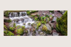 """MINIATURE FALLS"" Yosemite National Park, California | Rivers and Waterfalls | Steve Hansen Fine Art Landscape Photography"