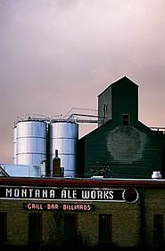 Ate here WAY too often when we lived in Bozeman. best wedge ever! Montana Ale Works. Bozeman, MT.
