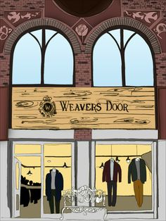A Illustration of the Liverpool Store by our good friend Josh Parkin. Also The front & Weavers Door (weaversdoor) on Pinterest Pezcame.Com
