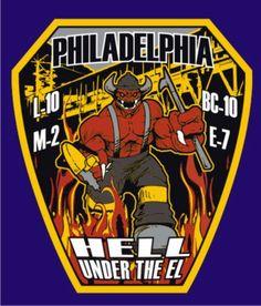 Philadelphia Fire Department  L-10 E-7 M-2 BC-10