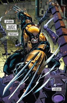 """""""Doing What He Does Best."""" (Wolverine #1)"""