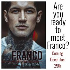 TLBC's Book Blog: Who's ready for Franco? AHHHHHH!