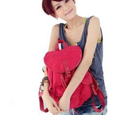 Cute canvas backpack