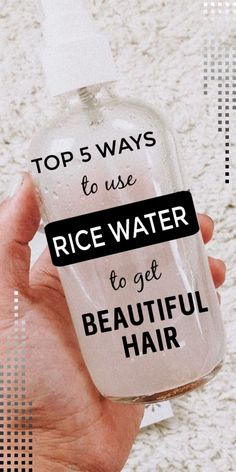 Top 5 Ways To Use Rice Water To Get Healthy Beautiful Hair At Home hair diyhair haircare haircaretips ricewater beautifulhair healthyhair longhair diytips beautyhacks haircaretips BA Natural Hair Tips, Natural Hair Growth, Natural Hair Styles, Long Hair Styles, Black Hair Growth, Natural Hair Treatments, Hair Growing Tips, Grow Hair, Diy Hair Care