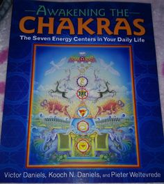 #Awakening the #Chakras by Victor Daniels, Pieter Weltevrede and Kooch N. Daniels @InnerTraditions  Can be found at http://amzn.to/2m02lvw