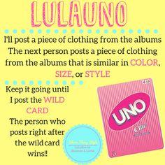 Lularoe Games LulaUno www.facebook.com/lularoeshannonlarisa