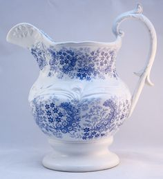 By: Samuel Alcock & Co.   Pattern: Victoria      c.1830-59