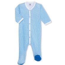 Blauwe babypyjama