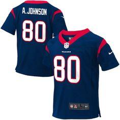 Andre Johnson Houston Texans Nike Preschool Game Jersey – Navy Blue - $28.49