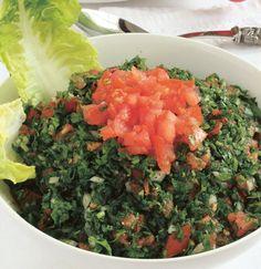 Herb and Bulgur Wheat Salad (Tabouleh)
