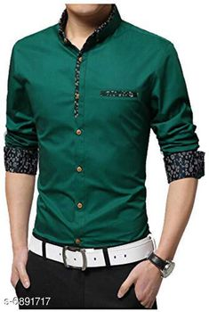 Checkout this latest Shirts Product Name: *New Attractive Men's Shirt* Fabric: Cotton Sleeve Length: Long Sleeves Pattern: Solid Multipack: 1 Sizes: M (Chest Size: 38 in, Length Size: 27 in)  L (Chest Size: 40 in, Length Size: 28 in)  Country of Origin: India Easy Returns Available In Case Of Any Issue   Catalog Rating: ★4 (3097)  Catalog Name: New Attractive Men's Shirt CatalogID_1100266 C70-SC1206 Code: 544-6891717-3411
