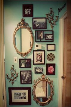 This is beautiful! Love all the mirrors.