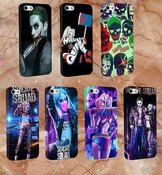 #Harley quinn #joker suicide squad-plastic case #cover for iphone & samsung ,  View more on the LINK: 	http://www.zeppy.io/product/gb/2/182158675933/