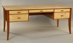 Doucette and Wolfe Furniture Makers: Writing Desk