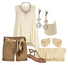 A fashion look from January 2013 featuring sheer tank top, checkered shorts and low heel sandals. Browse and shop related looks. Cute Summer Outfits, Short Outfits, Casual Outfits, Cute Outfits, Casual Dressy, Summer Shorts, Look Fashion, Fashion Outfits, Womens Fashion