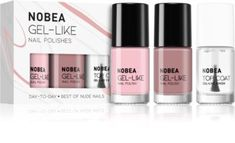 NOBEA Day-to-Day комплект лак за нокти Best of Nude Nails | notino.bg Beauty Zone, N21, Nude Nails, Nail Polish, Lipstick, Beige Nail, Lipsticks, Simple Nails