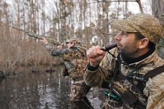 Duck Hunting: Calling Tips from Expert Waterfowlers Quail Hunting, Waterfowl Hunting, Duck Hunting, Turkey Hunting, Hunting Calls, Hunting Photography, Used Camping Gear, Hunting Pictures, Duck Calls