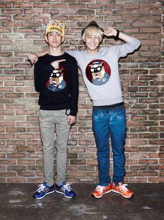 Jr.(Park Jin Young) and JB (Im Jae Bum)
