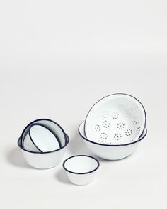 Falcon Enamelware | Prep Set | Baking | Enamel cookware | Shop | Design and Craft | Gifts | Makers | Makers & Brothers