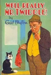 """Cats in Art and Illustration: """"Well, Really, Mr. Twiddle, by Enid Blyton."""