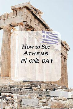 Athens Greece Must See Greece - Travel Santorini, Mykonos Greece, Athens Greece, Crete Greece, Parthenon Greece, Athens Acropolis, Greece Thessaloniki, Greece Honeymoon, Greece Vacation
