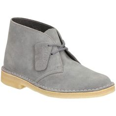 Clarks Originals Low Heeled Desert Boots , Navy Suede (190 CAD) ❤ liked on Polyvore featuring shoes, boots, ankle booties, navy suede, low heel ankle booties, flat booties, suede bootie, low heel boots and suede ankle boots