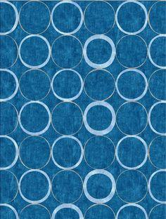 """""""Rio Blue"""" design by NIBA Rug Collections"""