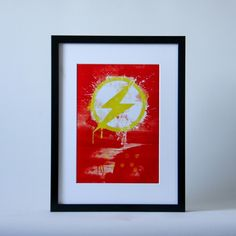 """Flash"" Print in A4 and A3"