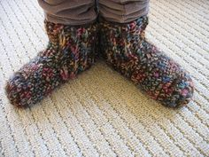 FREE Crochet Pattern for Kids,Women's and Men's Slippers ~ Crochet Collection