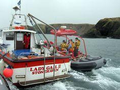 Januari 2010:  SAR craft training Schotland, Stonehaven. © Reddingstation Wijdenes
