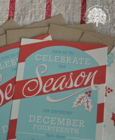 @Minted Christmas Invites just arrived....and we love them! Loved Minted's style and quality......