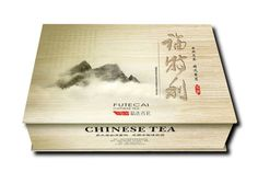 Chinese tea once again given an upmarket feel.