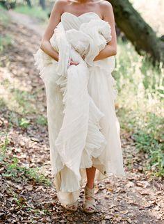Eco Chic Wedding Dress Lauren By Lindee Daniel | Bridal Musings